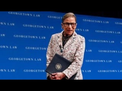 Justice Ruth Bader Ginsburg hospitalized for three broken ribs