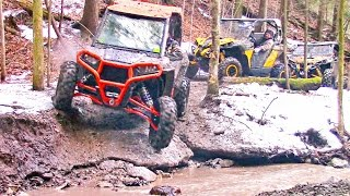 9. Scenic SxS Trail Ride in the Canadian Wilderness - Polaris RZR XP vs Can-Am Maverick X DS Offroading
