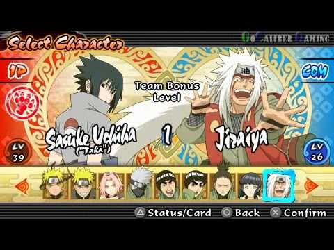 Naruto Shippuden: Ultimate Ninja Impact - Part 147 - Tag Mission 6: Master And Disciple