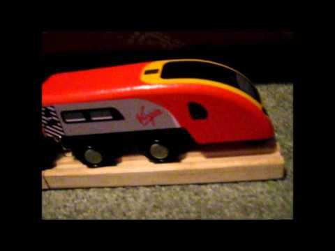 WTR Reviews #7 - Virgin Trains Pendolino - Bigjigs Rail