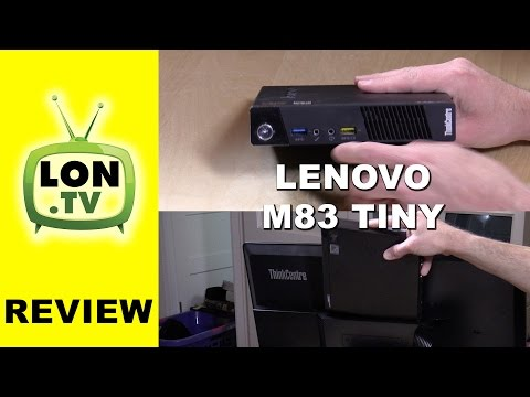 Lenovo Thinkcentre M83 Tiny and Tiny In One Monitor Review