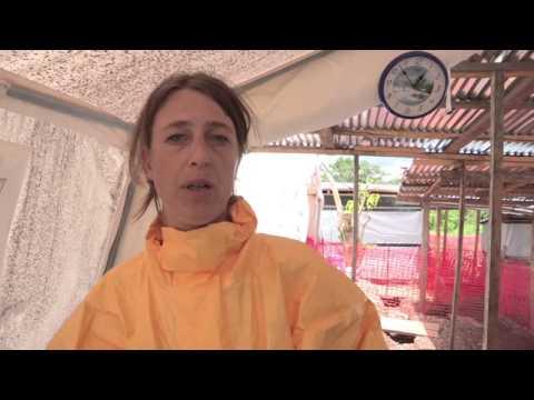Inzamelingsactie voor Giro 555 stop ebola