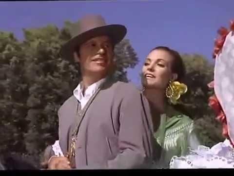 Carmen Sevilla y Francisco Rabal   Camino al Rocío