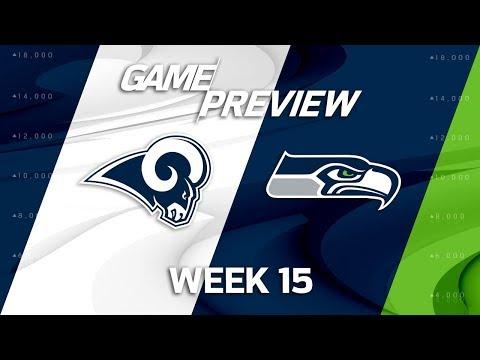 Video: Los Angeles Rams vs. Seattle Seahawks | NFL Week 15 Game Preview | MTS