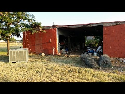 Do It Yourself-Converting an old Horse barn to a shop, Beginning to end