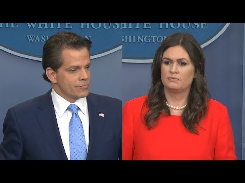 Sanders, Scaramucci full White House briefing