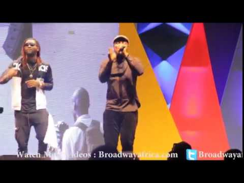 Harrysong Delivers Live and Spectacular Performance at NMVA2016