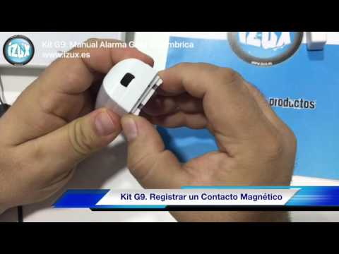 ALARMA GSM INALÁMBRICA - MANUAL KIT G9[;;;][;;;]