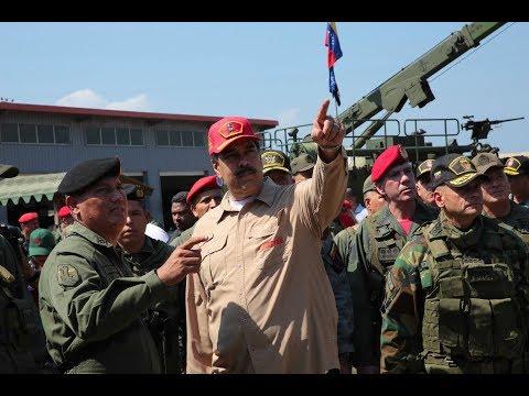 Venezuela: »Wir werden uns verteidigen« - Maduro zeigt  ...