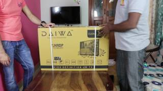 Daiwa TV range buy link: http://amzn.to/2tiRtMmDaiwa TV is a new product in the market and they have both Smart and non-smart TVs. Here is a review of one of their product.