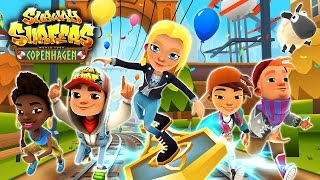Join the Subway Surfers World Tour in Copenhagen and celebrate their 5th Birthday! Download for free on Android, iOS, Windows 10 and Kindle Fire right here: http://bit.ly/SubSurfFBSubway Surfers World Tour - Copenhagen:★ Celebrate the Subway Surfers 5 years birthday in cool Copenhagen★ Invite Surfers from previous World Tour destinations to join the party★ Don't miss your free birthday gift - thank you for playing!★ Tune in with Freya the talented singer and unlock the Viking Outfit★ Unlock the Hammer board and thunder through the Subway with lightning powerDownload for FREE on:Android:http://bit.ly/SubSurf_GooglePlayiOS:http://bit.ly/SubSurf_AppStoreWindows 10:http://bit.ly/SubSurf_WPstoreKindle Fire:http://bit.ly/SubSurf_Amazon