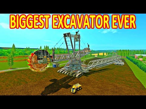 Biggest in the world excavator v1.2