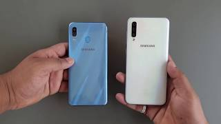 Samsung Galaxy A50 vs A30 COMPARISON