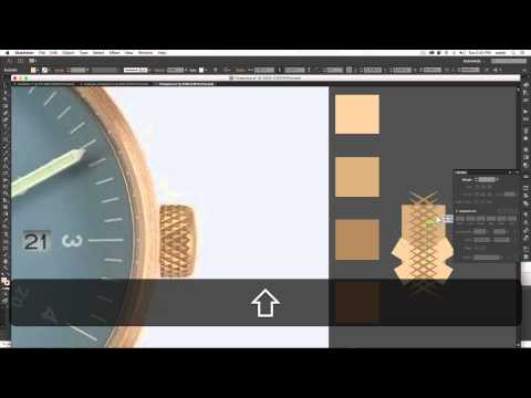 Illustrator Tutorial: Adding Realism To Vector Clock