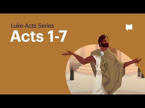 Pentecost: Acts 1-7
