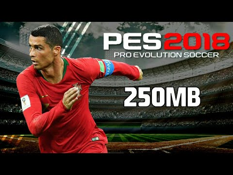 PES 2018 Mod FIFA WORLD CUP RUSSIA 2018 Best Graphics 250MB