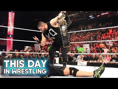 This Day In Wrestling: Kevin Owens Makes WWE Debut (May 18th)