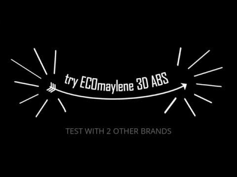 ECOmaylene ® 3D - Perfect ABS Print