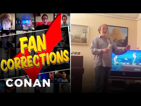 fan - If there are two people who know America's past time, it's Conan and Adam Scott. More CONAN @ http://teamcoco.com/video Team Coco is the official YouTube cha...
