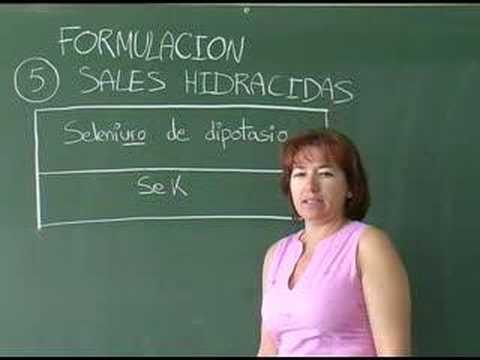 Vídeos Educativos.,Vídeos:Sales Hidrácidas