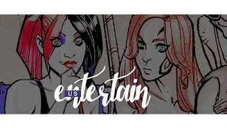 entertain us ♔ harlivy [dc comics]