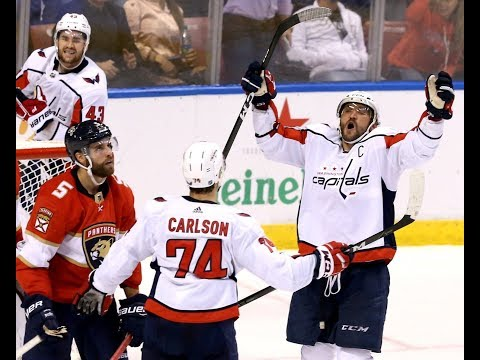 Caps top Panthers on another milestone night for Alex Ovechkin