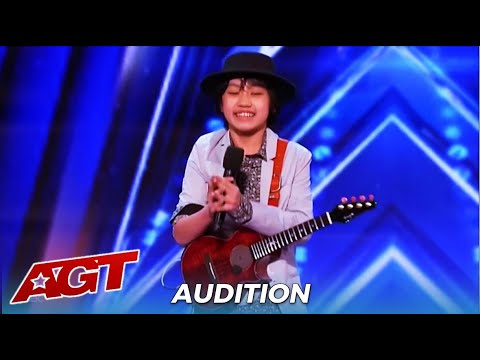 Feng E 馮羿: Viral Ukulele Kid From Taiwan WOWS @America's Got Talent