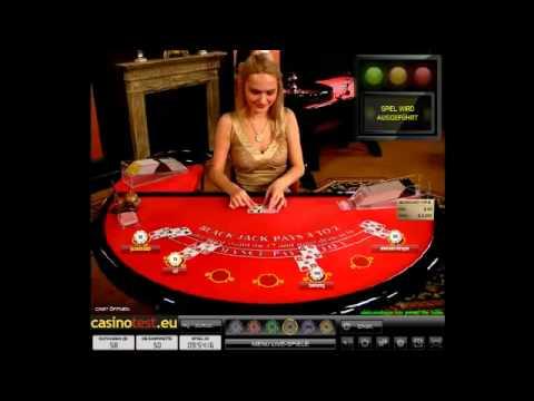 Live Dealer Blackjack VIP Video