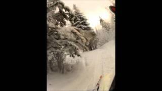 1. 2012 Arctic cat m1100 turbo sno pro 162