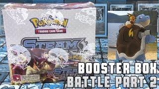 Pokémon Cards - Steam Siege Booster Box Opening Battle vs Mayhem Pokemon! | Part 2 by The Pokémon Evolutionaries