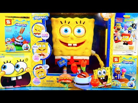 toys - Spongebob Squarepants Toys Video !!! We open up a Giant Spongebuddy Squarepants PLUS A Spongebob Surprise Pack, Blind Box, AND MORE !! Check out more of our ...