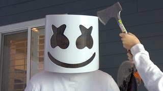 Video What's inside Marshmello Helmet? download in MP3, 3GP, MP4, WEBM, AVI, FLV Mei 2017