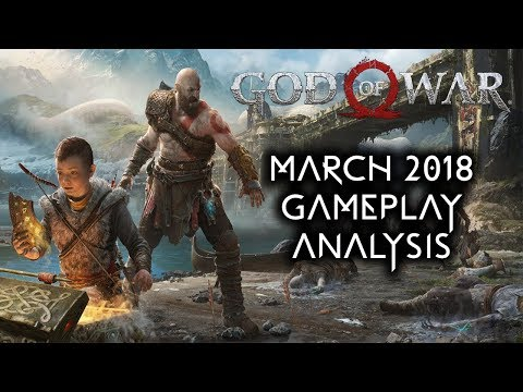 God Of War PS4 - March 2018 Gameplay Analysis