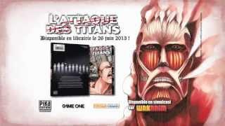 L'attaque des Titans - Trailer manga Pika