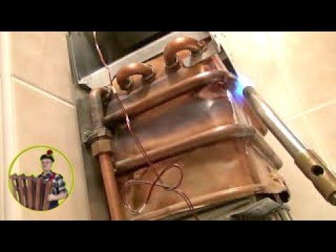 Теплообменник на газовую колонку своими руками