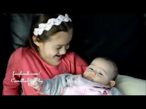 CamillaThyThy hát hò và trò chuyện với em gái LyLy