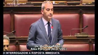 On. Bosco - 28/04/16 Iniziative a tutela reddito agric... 2 parte