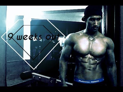 Chest Workout Dumbbell Chest Exercises for Bodybuilding Men's Physique Fitness Model