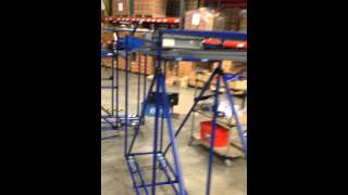 NIS - Gravity Feed Rack in action