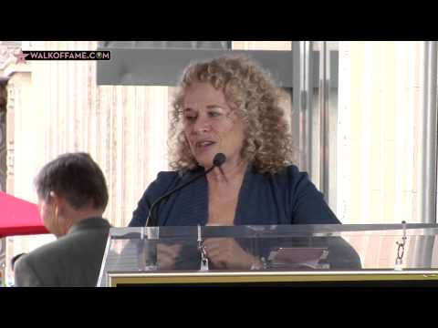 Carole King Walk of Fame Ceremony