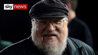 Game Of Thrones writer George RR Martin says talks about the books and how fans are used to guessing storylines as they wait...