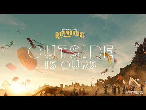 Kopparberg Cider - Outside Is Ours