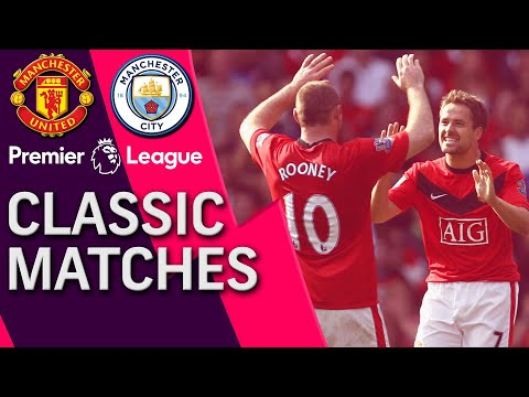 Manchester United V. Manchester City | PREMIER LEAGUE CLASSIC MATCH | 9/20/2009 | NBC Sports
