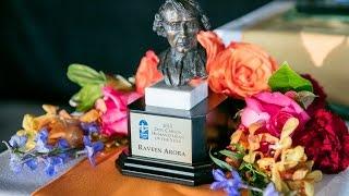 Don Carlos 2015 award video Raveen Arora humanitarian
