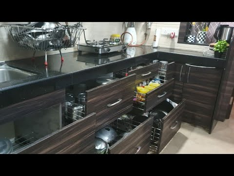 9 Modular Kichen Cleaning Tips ll How to Clean Kichen Trolleys