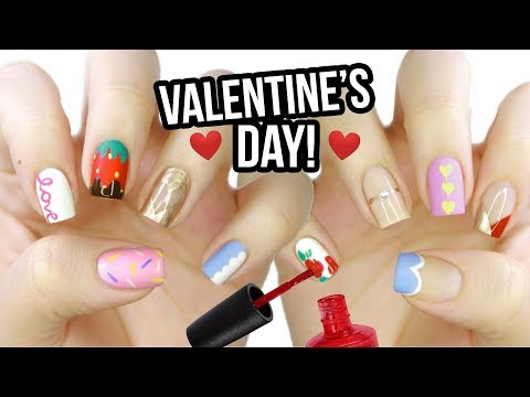 Nail designs - 10 Valentine's Day Nail Art Designs: The Ultimate Guide 2019!