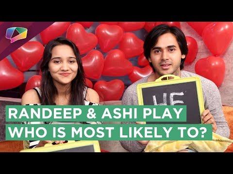 Randeep Rai And Ashi Singh From Yeh Unn Dino Ki Ba