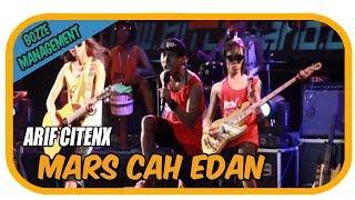 MARS CAH EDAN - ARIF CITENX [ OFFICIAL KARAOKE MUSIC VIDEO LIVE BALI]