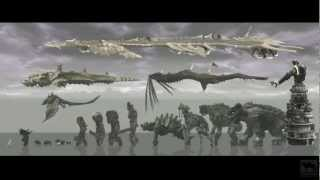 Shadow of the Colossus - Colossi sizes montage