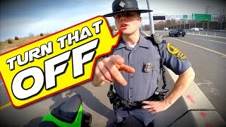 Video Pulled Over by the Coolest COP EVER!!! MP3, 3GP, MP4, WEBM, AVI, FLV November 2017